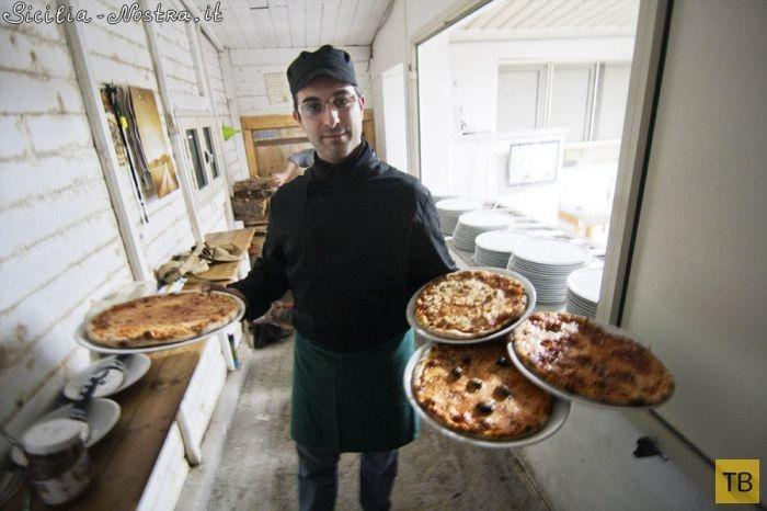 Как готовят сицилийскую пиццу