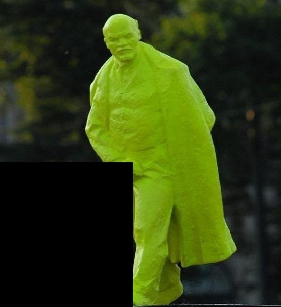 Скандальный Ленин В Польше