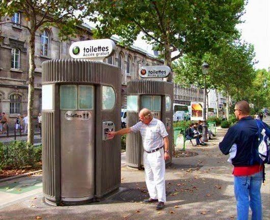 Чудо туалеты Европы