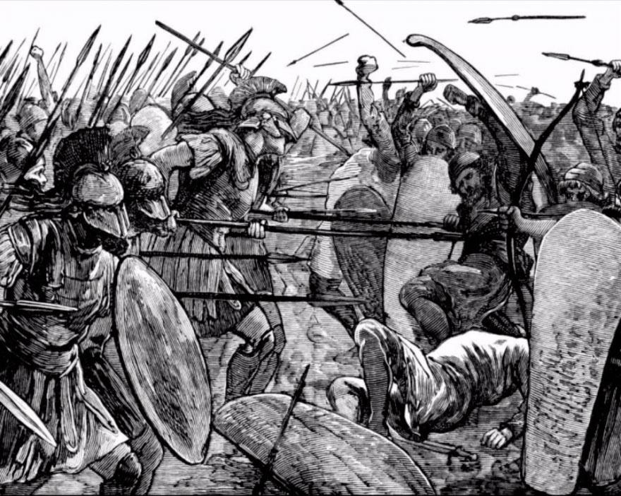 """Гераклит: """"Война - это верховный жрец всех"""""""