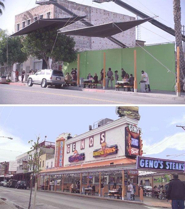 Компьютерная графика в фильмах: До и после