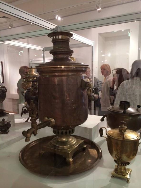 Русская выставка чаепития