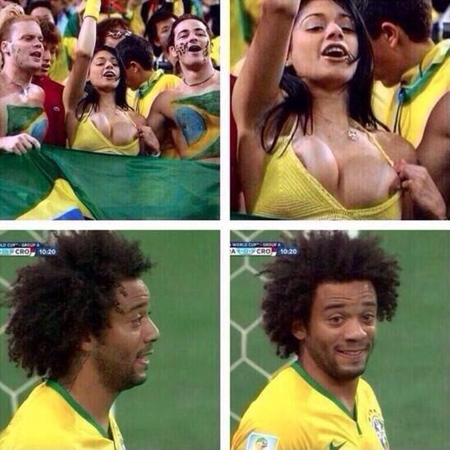 Прикольные картинки про чемпионат мира по футболу 2014 (64 фото)