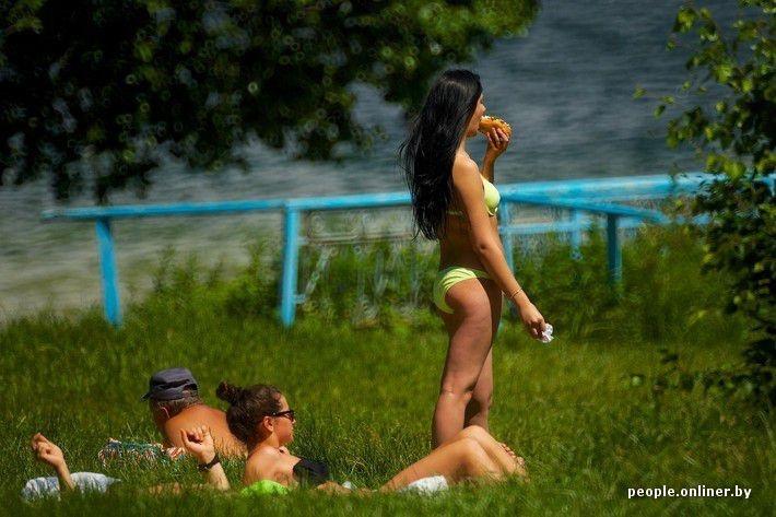 Отдых на озере по белорусски (54 фото)