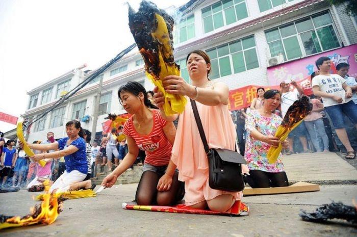 Китайские Нано-шпоры на Гаокао