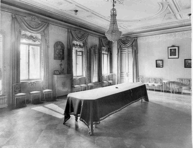 Интерьеры генеральских квартир царской России