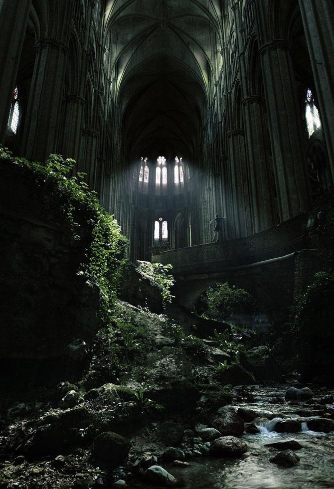 Красивые заброшенные места