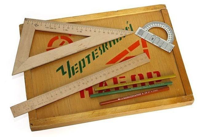 Школьные принадлежности в Советском Союзе