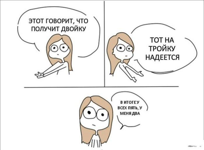 Смешные комиксы (20 картинок) 20.06.2014