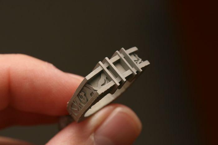 К свадьбе девушка изготовила обручальные кольца своими руками (28 фото)