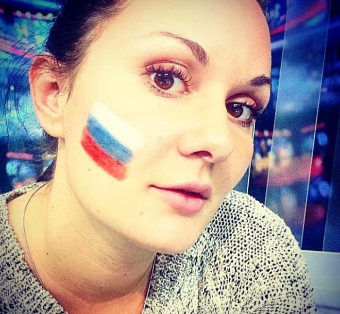 Российские болельщицы футбола (74 фото)