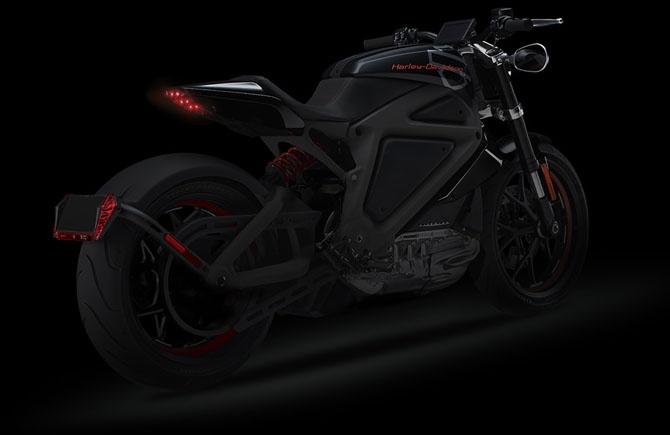 Новый Harley-Davidson с электродвигателем