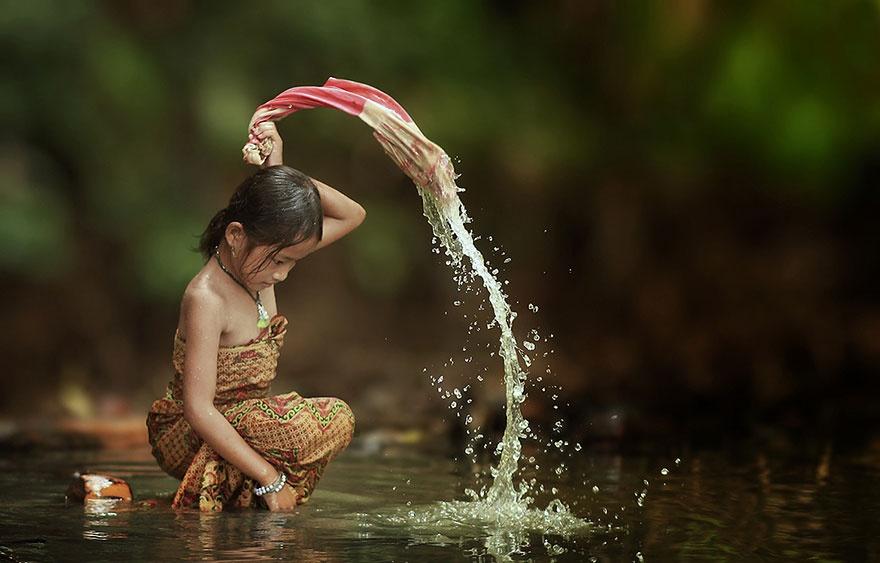 Будни одной индонезийской деревни (18 фото)