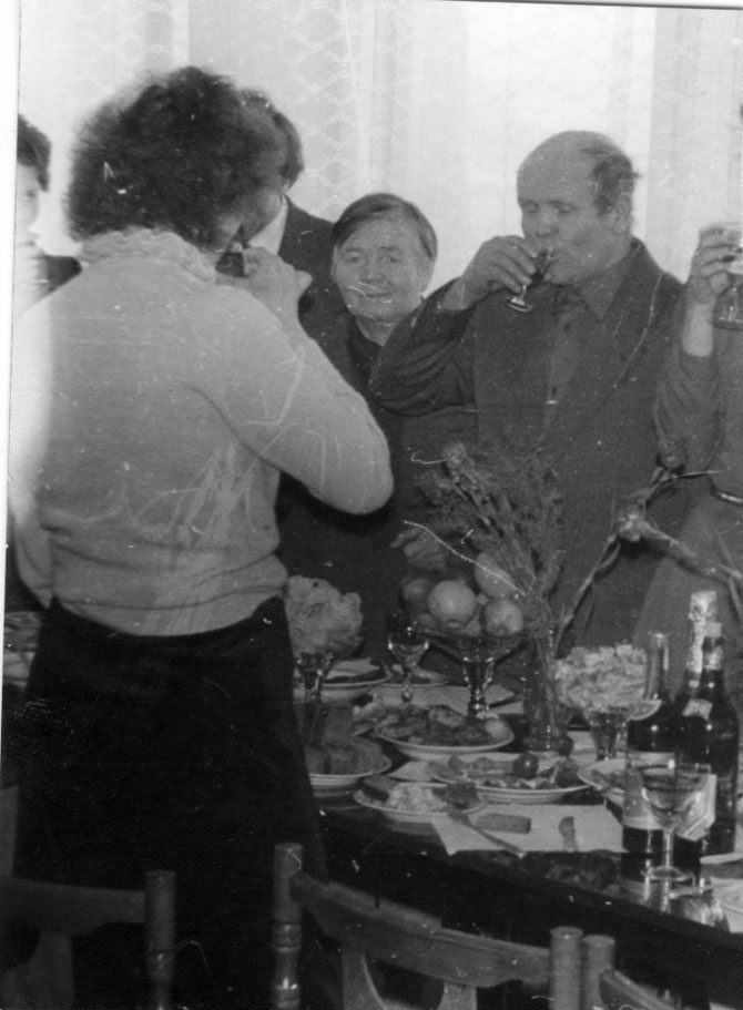 Как проходили советские застолья