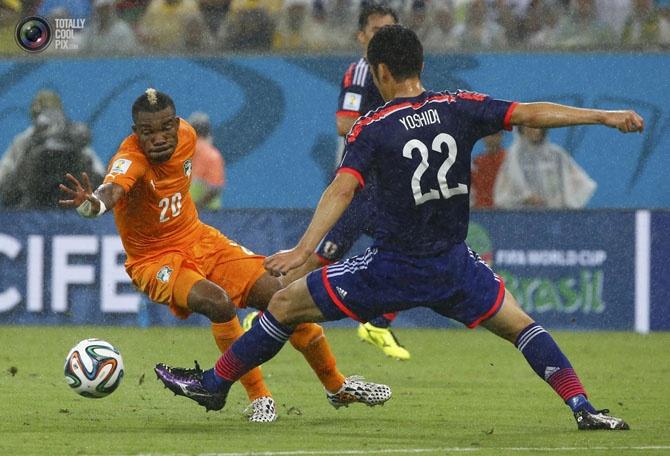 Самые яркие моменты начала чемпионата мира по футболу 2014