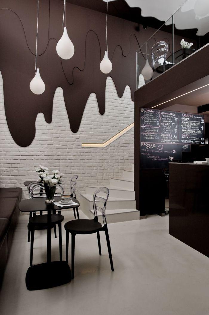 Топ-20 оригинальных дизайнерских ресторанов, кафе и баров  (67 фото)