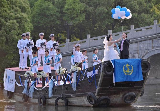 Как проводят свадьбы в разных странах (45 фото)