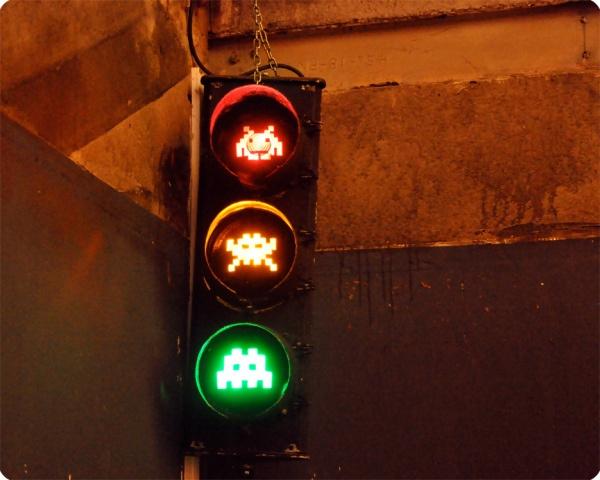 Креативные светофоры с разных концов света (11 фото)