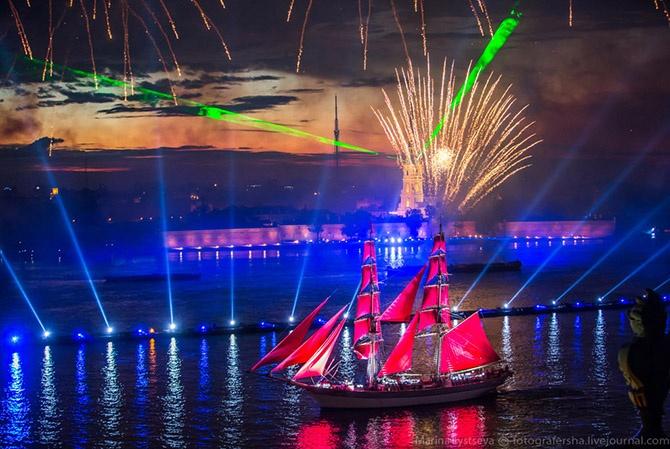 Алые паруса 2014 в Санкт-Петербурге