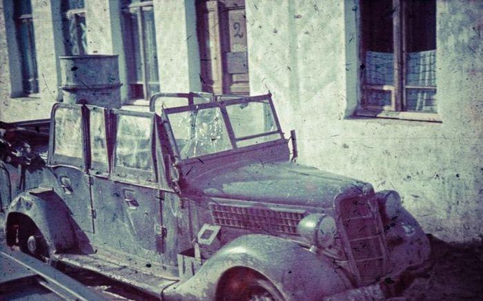 Архивные фотографии Крыма периода Второй Мировой Войны