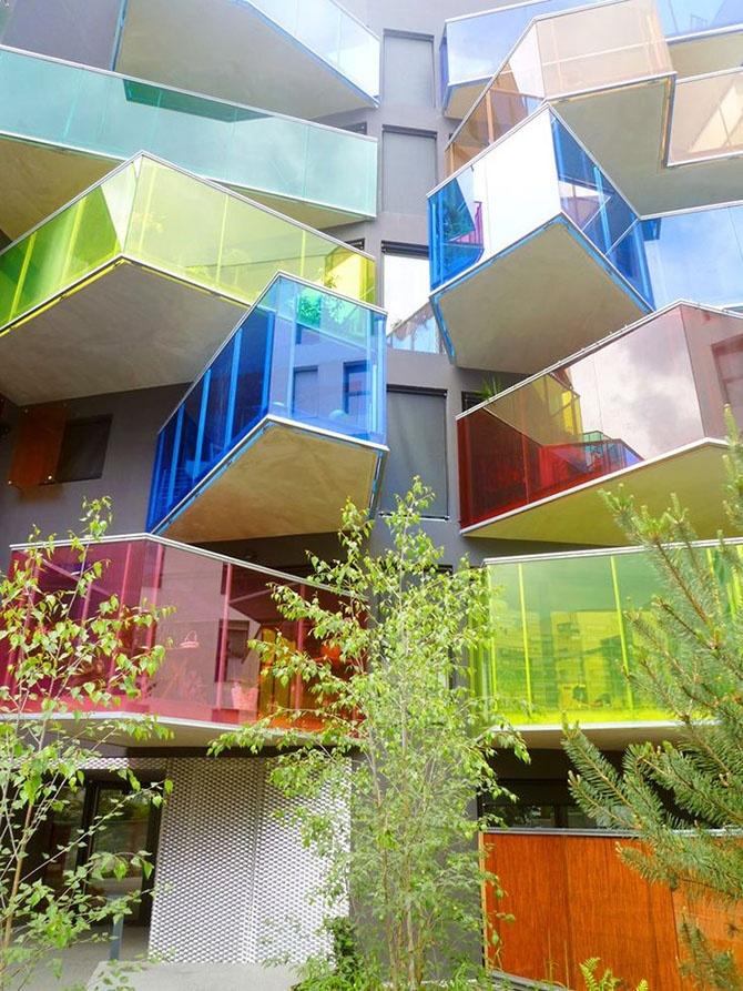 Цветная архитектура (10 фото)