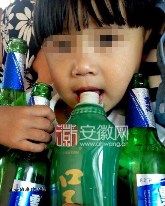 Самому молодому алкоголику всего два года