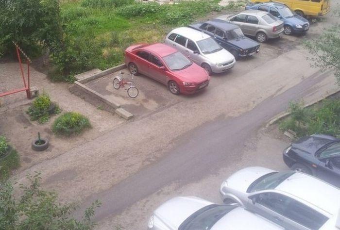 "Велопарковки для ""всех"" (2 фото)"