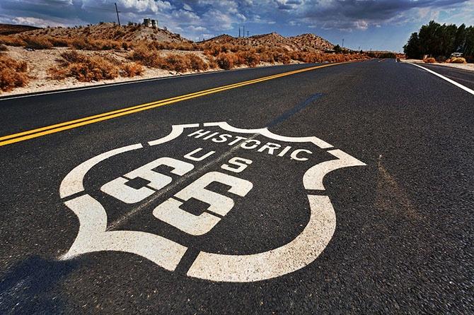 7 культовых автодорог США