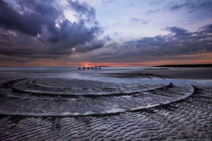 Завораживающий полуостров рыбачий (25 фото)