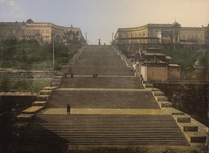 История Потёмкинской лестницы из Одессы