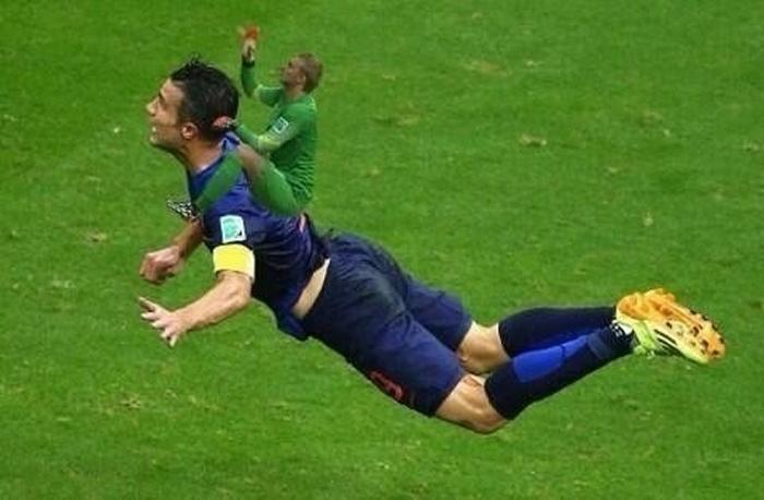 Фотожабы на вратаря сборной Голландии (9 фото)