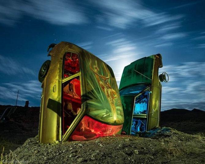 Международный автомобильный лес в Неваде