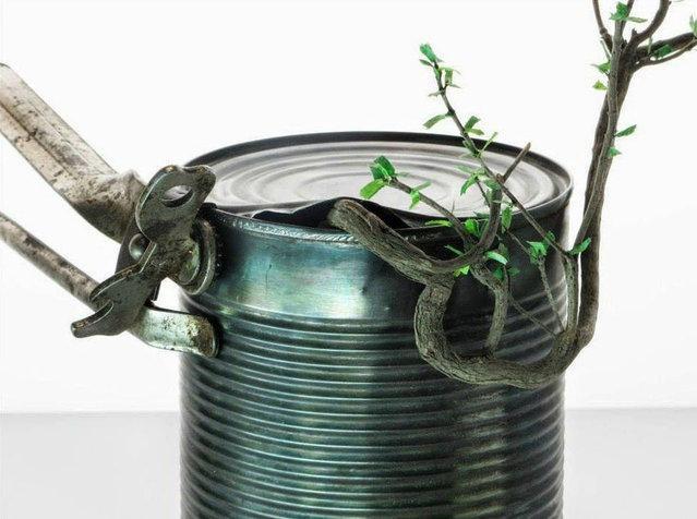 Скульптуры из растений от Эмерика Чантье