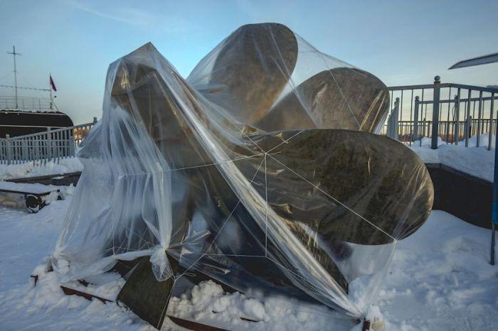 """Российская подводная лодка музей """"Новосибирский комсомолец"""" (48 фото)"""