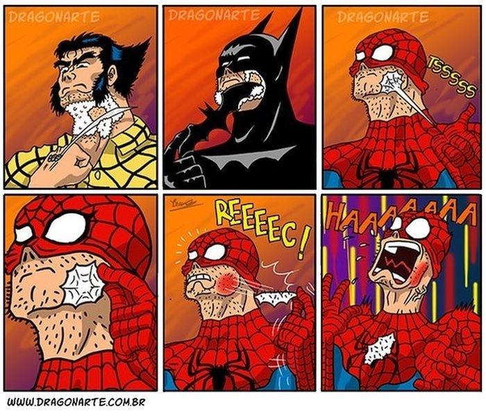 Смешные комиксы (20 картинок) 17.07.2014