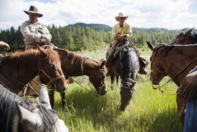 Жизнь на настоящем ранчо