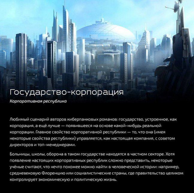 10 вариантов государства будущего