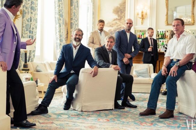 Красивые мужчины и стареют красиво