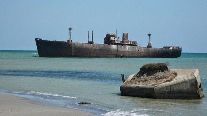 12 затонувших кораблей