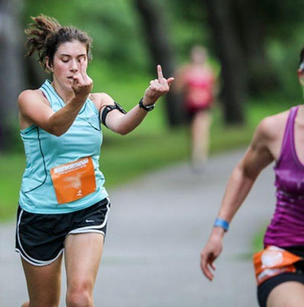 Эмоции разочарование на марафоне (9 фото)