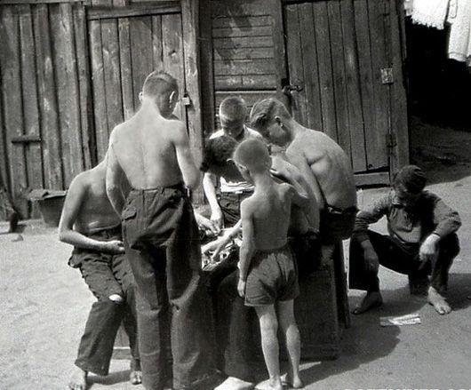 Дворовые занятия ребятни в СССР