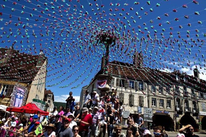 Самые яркие фотографии веломногодневки «Tour de France 2014»