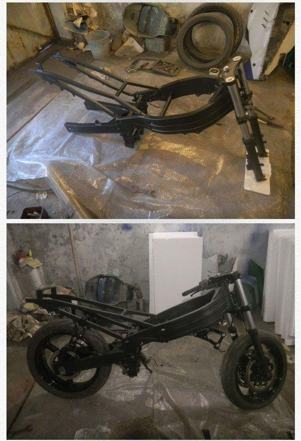 Крутой обвес для мотоцикла своими руками (40 фото)