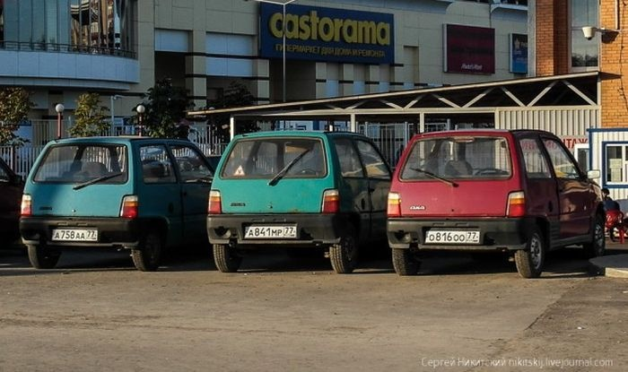 Номера стоят дороже авто (4 фото)