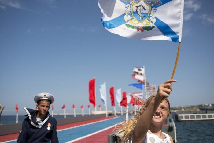 Фотоотчет празднования Дня Военно-Морского Флота в Севастополе (31 фото)