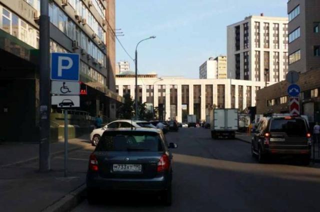 Парковочный беспредел в Москве