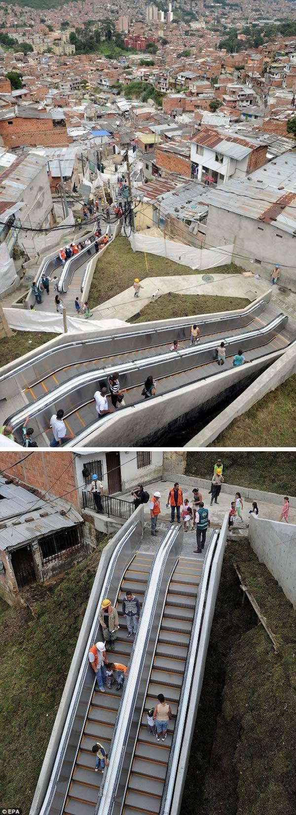 Топ 10 Самые необычных эскалаторов мира