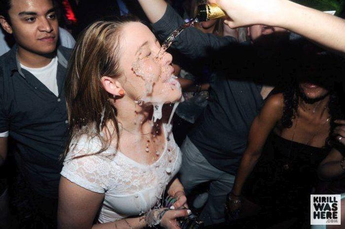 Дегустация шампанского без бокалов (35 фото)