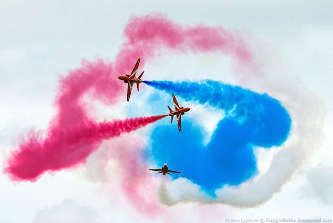 Пилотажная группа Red Arrows (38 фото)