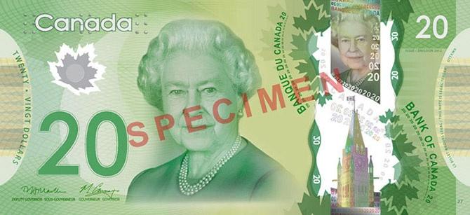 15 банкнот, на которых изображена жизнь Королевы Елизаветы